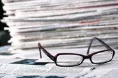Okuma gözlüğü — Stok fotoğraf