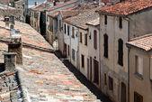 Mediterranean house lane — Stock Photo