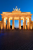 Brandenburger Tor on edge — Stock Photo