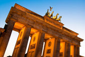 Brandenburger Tor from left oblique V1 — Stock Photo