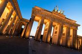 Brandenburger Tor from left oblique V2 — Stock Photo