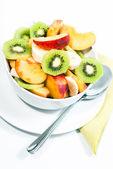 Bowl of fresh fruit V1 — Stock Photo