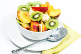 Bowl of fresh fruit V2 — Stock Photo