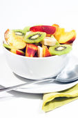 Bowl of fresh fruit V3 — Stock Photo