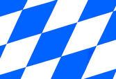 Bandera bávara v1 — Foto de Stock