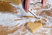 The heart-shaped gouge V5 — Stock Photo