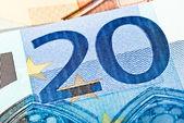 Twenty euro note — Stock Photo