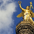 Victory column with clouds — Stock Photo