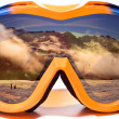 Snowboard glasses — Stockfoto #8820175
