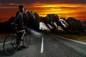 山山頂ステージ — ストック写真