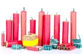 Firecracker assortment — Stock Photo