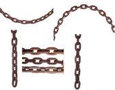 металлические цепи — Стоковое фото