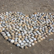 Stock Photo: Heart of Shells