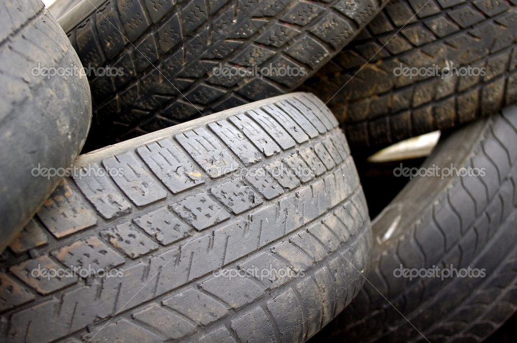 Old tires — Stock Photo #8793089