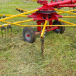 Agricultural machinery for preparing hay - Stock Photo