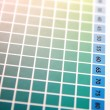 Color palette background — Stock Photo