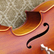 Violoncello close-up — Stock Photo