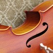 Stock Photo: Violoncello close-up