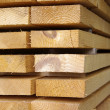 Close up view of stacked wooden boards — Stock Photo #9614802