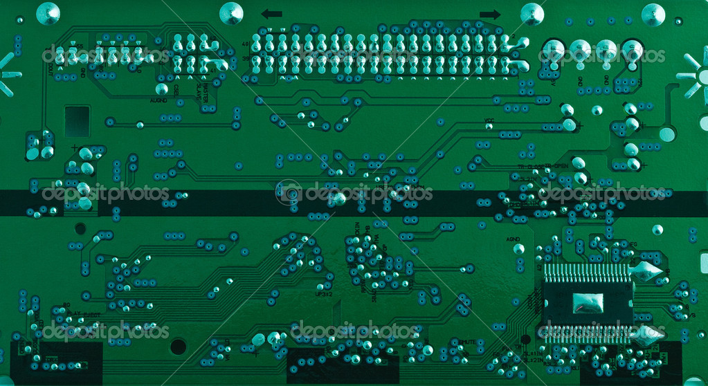 Printed Circuit Board Stock Photos Image 5890683