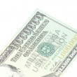 One million dollars banknote closeup — Stock Photo
