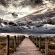 Stock Photo: Old jetty