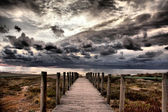 Old jetty — Stock Photo