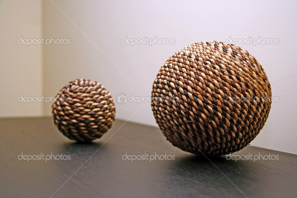 Wickers balls — Foto de Stock   #8898714