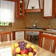 Interior of a modern kitchen - Foto Stock