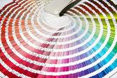 Color guide — Stock Photo