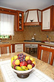 Interior of a modern kitchen — Стоковое фото
