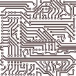 Royalty-Free Stock Vektorfiler: Vector seamless circuit board pattern