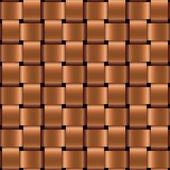 Vector metal wicker seamless pattern — Stock Vector