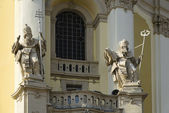 Cathedrals - monuments of architecture of Lvov — Stock Photo