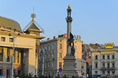 Monuments and architecture of Lvov — Stock Photo