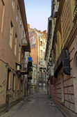 Small streets of Lvov — Stock Photo