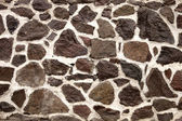 Stone wall rock — Stock Photo