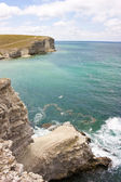 Black sea, Crimea, Tarhankut — Stock Photo