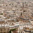 Stock Photo: Vast seof rooftops across Paris cityscape