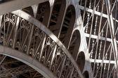 эйфелева башня деталь классические модели — Стоковое фото
