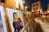 Picasso replica for sale at Montmartre in Paris — Stock Photo