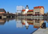 Fish village, Kaliningrad (Königsberg). — Stock Photo