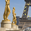 Stock Photo: Paris France Trocadero