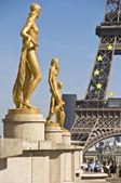 Paris France Trocadero — Stock Photo