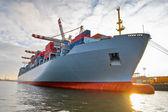 Cargo freight container ship — Stock Photo