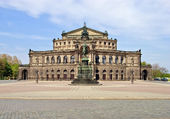 Semper Opera House, Dresden — Stock Photo