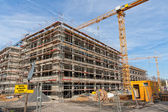 Construction site — Stockfoto