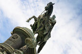 Statue King John of Saxony (Dresden, Germany) — 图库照片