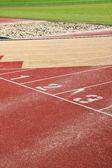 Running track — Stock Photo