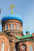 Pokrovsky Cathedral. Barnaul. — Stock Photo